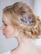 FXmimior Bridal Wedding Vintage Crystal Rhinestone Vintage Hair Comb Hair Accessories Women Hair Jewellery
