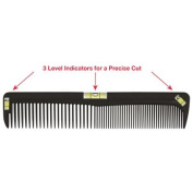 Scalpmaster 20cm Cutting Comb with Level SC9237