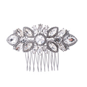 SEPBRIDALS Crystal Rhinestone Bride Wedding Hair Comb Pins Side Combs Accessories Jewellery GT4378