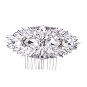 SEPBRIDALS Crystal Rhinestone Bride Wedding Hair Comb Pins Side Comb Accessories Jewellery GT4379