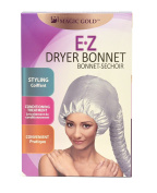 Bonnet Hair Dryer Attachment (Soft) for Home or Professional Style Use