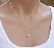 Leiothrix Hot Pearl Alloy Necklace for Women and Girls Apply to Weeding Party Gift Casual