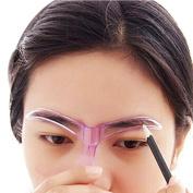 Baomabao Drawing Eyebrow Template Makeup Grooming Beauty Tool