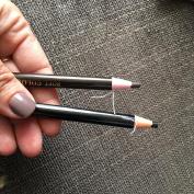 LAUREN STORE, 2PCS (BLACK / BROWN) Eyebrow Liner Eyebrow Pencil Waterproof Natural Long lasting Enhancer, Permanent Makeup