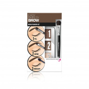 Covergirl Easy Breezy Brow Powder Kit, Soft Brown