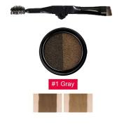 Shouhengda Air Cushion Eyebrow Cream Enhancer Make Up Double-Colour Waterproof Eyebrow Enhancers Set
