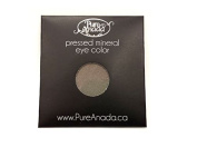 Pure Anada Pressed Powder Natural Mineral Eye Shadow Pewter Deep Silver