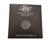 Pure Anada Pressed Powder Natural Mineral Eye Shadow Onyx Charcoal Black