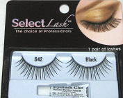 Select Lash 1 Pair of Eyelashes Style S42 Black