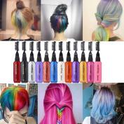 Binmer(TM) 13 Colours Temporary Hair Dye Mascara Hair Dye Cream Non-toxic DIY Hair Dye Pen