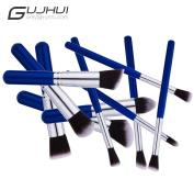 Fullkang 10PCS Make Up Foundation Blush Cosmetic Face Basic Concealer Brushes