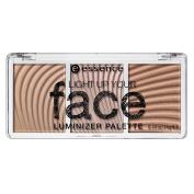essence Light Up Your Face Luminizer Palette, 10 Ready,Set, Glow!