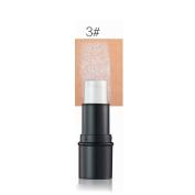 Highlighter Stick,Molie Beauty Highlighter Shimmer Stick Powder Highlighting Makeup Face Bronzer