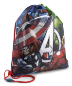 Disney Childrens Marvel Avengers Drawstring Gym Bag