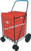 Red Water Resistant Shopping Cart Liner (Liner Only) - PrimeTrendz TM