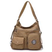 Outreo Girls Messenger Bag Women Handbag Side Shoulder Bag Casual Backpack Sport for Travel Satchel Crossbody Cross Body Bag Nylon