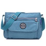 MeCooler Messenger Bag for Women Satchel Girls Crossbody Shoulder Bag Cross Body Bag Casual Sport Travel Side Pack Waterproof Nylon