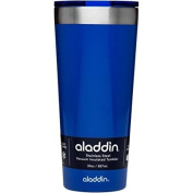 Aladdin 890ml Stainless Steel Vacuum Cup, Blue Erosion