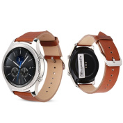 Samsung Gear S3 Frontier,Bescita Fashion Replacement Leather Watch Bracelet Strap Band For Samsung Gear S3 Frontier