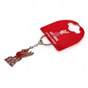 Official Liverpool FC Crest Keyring - A great gift / present for men, boys, sons, husbands, dads, boyfriends for Christmas, Birthdays, Fathers Day, Valentines Day, Anniversaries or just as a treat for and avid football fan