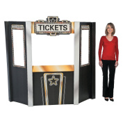 Movie Night Theatre Ticket Booth Cardboard Stand-Up