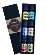 Ledsniper Aromatherapy Essential Oils Gift Set, 6 Bottles/ 10ml each, Pure & Therapeutic Grade