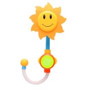 Niceskin Plastic Sunflower Bath Water Faucet Shower Baby Bath Toys Gift