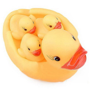 Detroital Rubber Duck Family Bath Set Baby Shower Birthday Party Favours