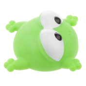 Dovewill Floating Rubber Big Eye Frog Animal Model Baby Child Bath Time Playing Toy Gift Green