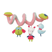 Jili Online Cute Baby Toy Educational Newborn Spiral Hanging Rattles Stroller Cot Toys