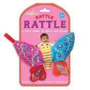 eeBoo Butterfly Baby Rattle Rattle