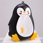 Black Baby Boys Penguin Toilet Potty Training Kids Toddler Urinal Bathroom Pee Trainer