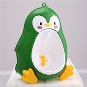 Green Baby-Boys-Penguin-Toilet-Potty-Training-Kids-Toddler-Urinal-Bathroom-Pee-Trainer