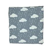 Clouds Newborn-Baby-Bassinet-Soft-Swaddle-Warm-Blankets-Stripe-Polar-Fleece-Sleeping