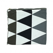 Geometric triangel Newborn-Baby-Bassinet-Soft-Swaddle-Warm-Blankets-Stripe-Polar-Fleece-Sleeping