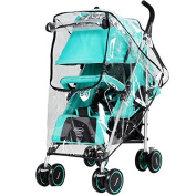 Stoller Universal-Waterproof-Rain-Cover-Wind-Dust-Shield-Canopy-Baby-Strollers-Pushchair