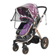 Pushchairs Universal Waterproof Rain Cover Wind Dust Shield Canopy Baby Strollers Pushchair