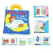Bear Hot-Intelligence-development-Cloth-Bed-Cognize-Book-Educational-Toy-for-Kid-Baby