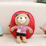 Red stripes Mini Cute Kids Safety Harness Backpack Bag Baby Anti-lost Walking Helper Kid