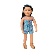 Maplelea's Play Day Romper Outfit for 46cm Dolls