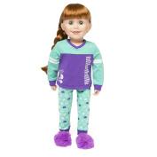 Maplelea Dream Team Pyjamas for 46cm Dolls