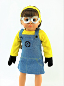 Minion Inspired Outfit | Fits 46cm American Girl Dolls, Madame Alexander, Our Generation, etc. | 46cm Doll Clothes