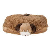Kids Teddy Soft Toy Cuddle Cushion Pillow - Dog - Sold by MENOS UK