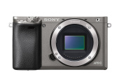 Sony Mirrorless Digital Camera with 7.6cm LCD, Graphite (ILCE-6000/H)