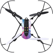 MightySkins Protective Vinyl Skin Decal for Parrot Mambo Drone Quadcopter wrap cover sticker skins Rainbow Zoom