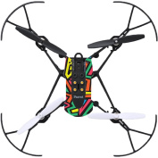 MightySkins Protective Vinyl Skin Decal for Parrot Mambo Drone Quadcopter wrap cover sticker skins Hyper