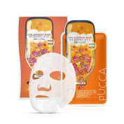 Pucca 10-in-1 Package Mask Pack 25ml, Moisture, Skin tone-up, 10pcs