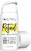 Body Merry Retinol Surge Moisturiser- Retinol Cream 2. 5% - 3. 120ml w Best Natural Ingredients Hyaluronic Acid Serum + Green Tea + Vitamins for Anti-Ageing & Anti-Wrinkle & Even Skin Tone & Acne Care…