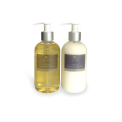 Relaxing hand & body wash/lotion duo - Ho Leaf, Jasmine and Lavender