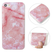 iPhone 5C Case, iPhone 5C Cover, Moon mood Ultra-Thin Soft TPU Silicone Case Colourful Marble Effect Design Scratch Resistant Protective Back Bumper Skin Shell Phone Cases and Covers for Apple iPhone 5C